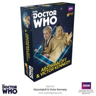 Doctor Who: Abzorbaloff & Victor Kennedy 1
