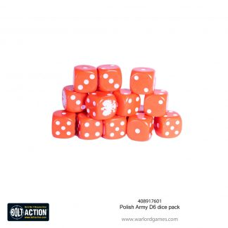Polish Army D6 dice pack 1