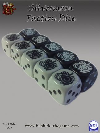 Silvermoon Syndicate Faction Dice 1