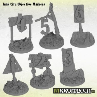 Junk City Objective Markers (6) 1