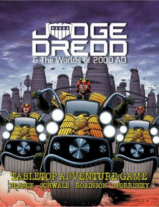 Judge Dredd & The Worlds of 2000 AD RPG Core Rulebook 1