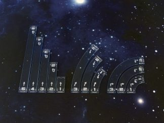 Space Fighter Move Templates Blue 1