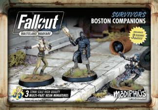 Fallout: Survivors Boston Companions 1