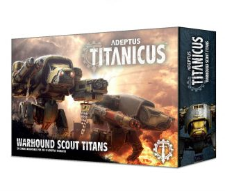 Adeptus Titanicus: Warhound Scout Titans 1