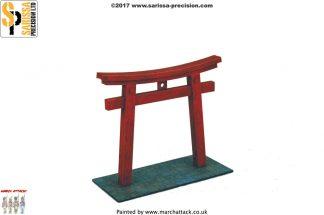 Feudal Japanese Torii Gate 1
