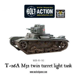 Finnish T-26A M32 Twin Turret Light Tank 1
