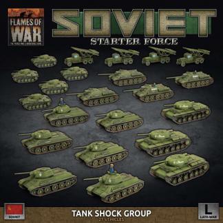 Soviet Tank Shock Group - Late War Army Deal 1