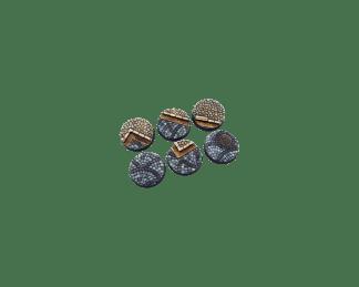 Cobblestone Bases, Round 40mm (2) 1