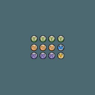 Infinity Token Set Fireteams (12) 1