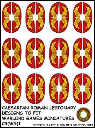 Caesarian Roman shield design 1 1
