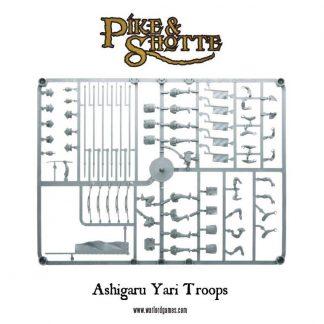 Ashigaru Yari Troops Sprue 1