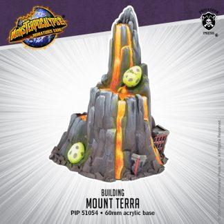 Monsterpocalypse G.U.A.R.D. Building Mount Terra 1