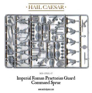 Imperial Roman Praetorian Guard Command Sprue 1