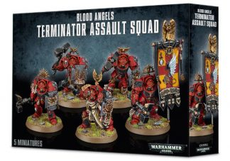 Blood Angels Terminator Assault Squad 1