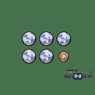 Infinity Tokens TOCamo Blue (6) 1