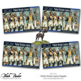 Napoleonic Polish Vistula Legion Brigade 1
