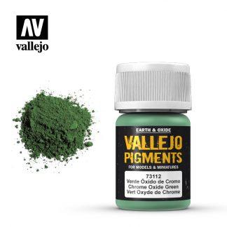Vallejo Pigment - Chrome Oxide Green 1