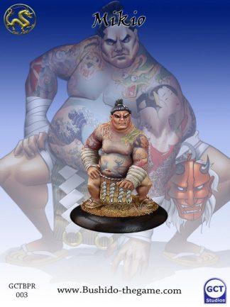 Mikio, Jumo Wrestler 1