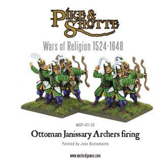 Ottoman Janissary Archers Firing 1