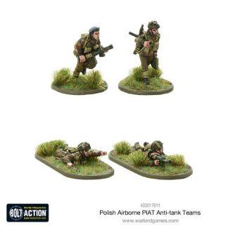 Polish Airborne PIAT anti-tank teams 1