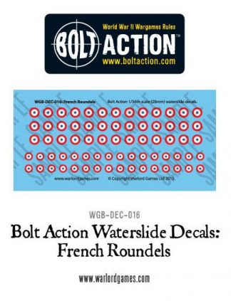 French Roundels decal sheet 1