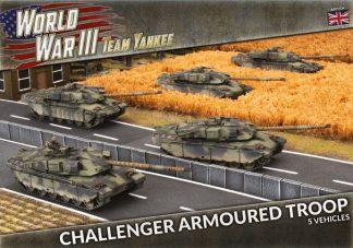 British Challenger Armoured Troop 1