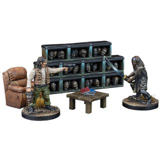 The Walking Dead: The Governor's Trophy Room (resin) 1