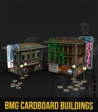Batman Miniature Game Cardboard Buildings 1