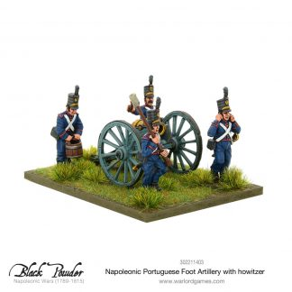 Napoleonic Portuguese Foot Artillery with Howitzer 1