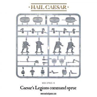 Caesar's Legions command sprue 1