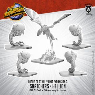 Monsterpocalypse Lords of Cthul Snatchers & Hellion 1