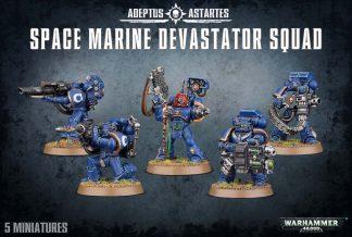 Space Marine Devastator Squad 1