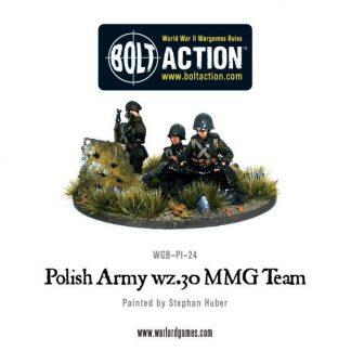 Polish Army wz.30 MMG team 1
