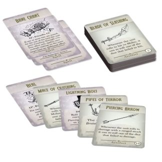 Kings of War Third Edition Spell & Artefact Cards 1