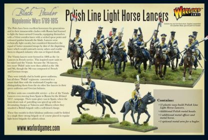 Napoleonic Polish Line Light Horse Lancers 2