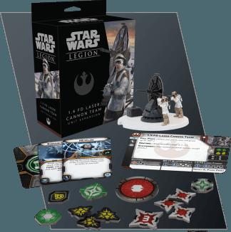 Star Wars Legion: 1.4 FD Laser Cannon Team 1