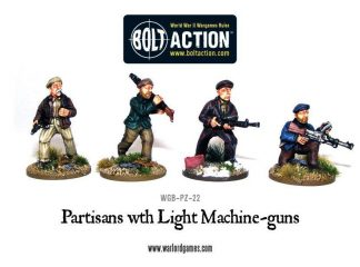 Partisans with Light Machine Guns 1