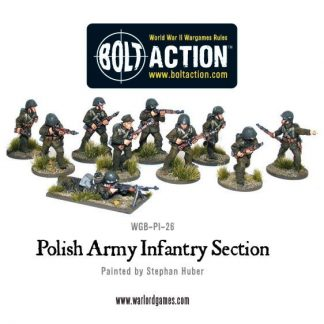 Polish Army Infantry Section 1