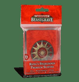 Warhammer Underworlds: Rippa's Snarlfangs Premium Sleeve Pack 1