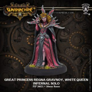 Infernals Great Princess Regna Gravnoy, White Queen 1