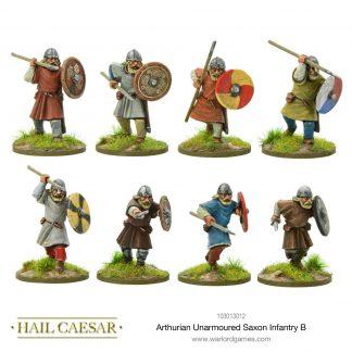 Arthurian Unarmoured Saxon Infantry B 1
