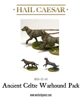 Ancient Celts Warhound Pack 1