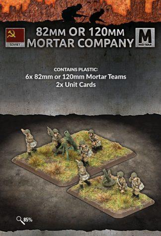 82mm or 120mm Mortar Company (plastic) 1