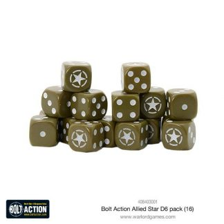 Allied Star D6 Dice (16) 1