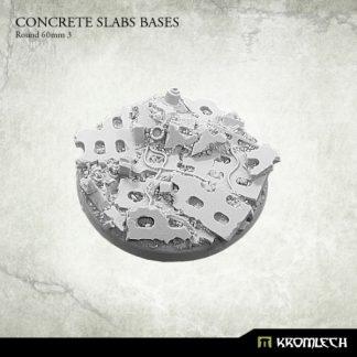 Concrete Slabs Round 60mm Pattern 3 (1) 1