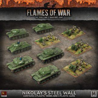 'Nikolay's Steel Wall' Army Deal (Plastic) 1