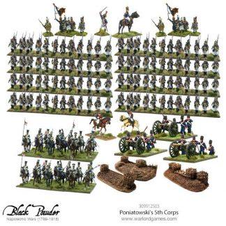 Napoleonic Polish Poniatowski's 5th Corps 1