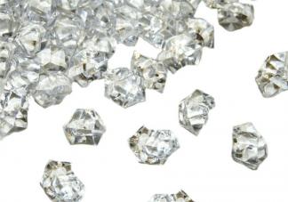Crystal Clear Acrylic Gems (20) 1