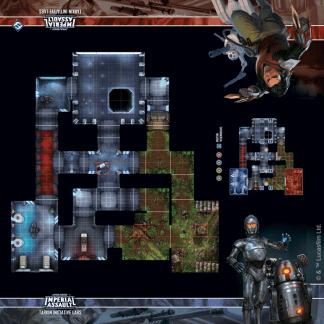 Imperial Assault: Tarkin Initiative Labs Skirmish Map 1