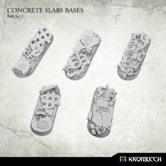 Concrete Slabs Bike 70x25mm Set 2 (5) 1